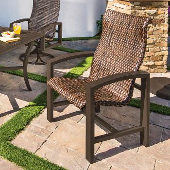 patio woven dining furniture