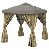 elegant outdoor cabana